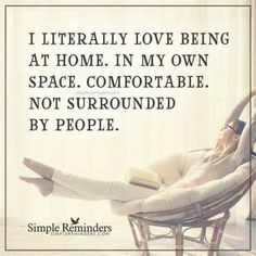 Sometimes, it's the best. Introvert Quotes, Infj, I Love Being Alone, Alone Quotes, A Course In Miracles, Simple Reminders, Thats The Way, The Best, Wise Words