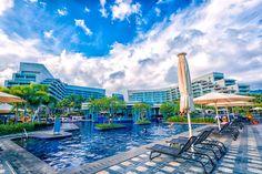 Embrace Hainan Yalong Bay National Resort Is A 7 5 Km Long Beach In Sanya