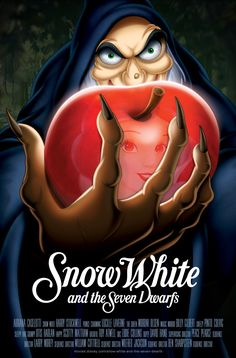 Dramatic Snow White and the Seven Dwarfs Poster