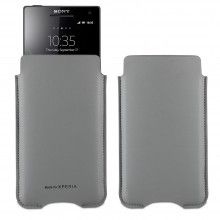 Forro Xperia T V M Made For Xperia - Slim Estuche Gris $ 49.400,00