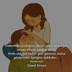 Hayali bile huzur kokuyor... Kids And Parenting, Book Quotes, Great Quotes, Poems, Love, Feelings, Sayings, Sweet, Pictures
