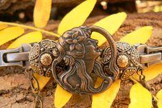 Steampunk Necklace - Steampunk Choker - Zipper Necklace