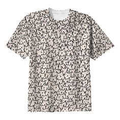 My design inspiration: A Lot Of Cats Tee on Fab.