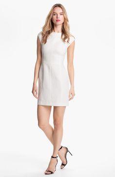 Theory Orinthia Cotton Blend Sheath Dress Nordstrom