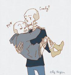 i was upset and drew this more hugs ╰(*´︶`*)╯ Undertale Ships, Undertale Au, Hugs, Skeleton, Princess Zelda, Fan Art, Draw, Game, Comics