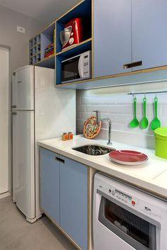 Como decorar cozinhas pequenas 4