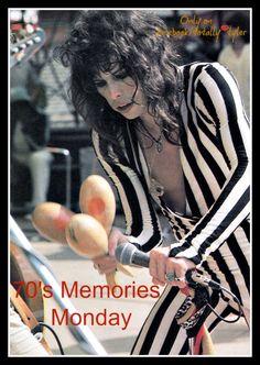 """""""70'S MEMORIES MONDAY"""" ONLY ON FACEBOOK/TOTALLY TYLER WITH @IamStevenT  #STEVENTYLER #AEROSMITH"""