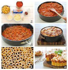 Rigatoni Pasta Pie..