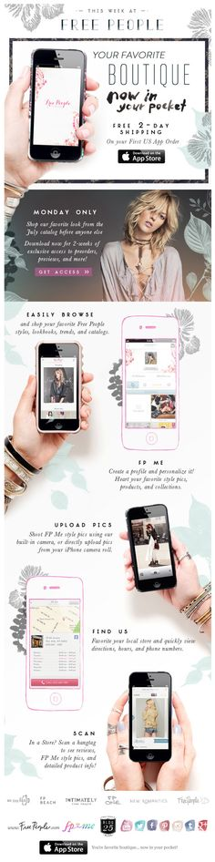Free People : Download The App + Features