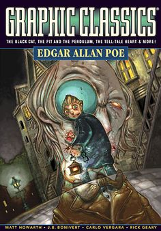 GRAPHIC NOVELS - Middle and High School students will love this! Graphic Novels in the Classroom Recommendation: Graphic Classics Edgar Allan Poe (Short Stories) | Casa de Lindquist - Teaching