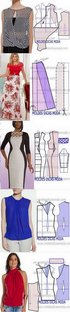 20 Easy Sewing Projects for Beginners - Abundator Diy Clothing, Clothing Patterns, Dress Patterns, Sewing Patterns, Sewing Dress, Sewing Clothes, Fashion Sewing, Diy Fashion, Sewing Tutorials