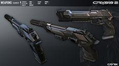 Crysis 2 Hammer Pistol by Scarlighter on DeviantArt