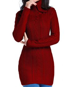 Women Funnel Neck Stretchable Elasticity Long Slim Knit Sweater Jumper (US SIZE Red): Women Funnel Neck Stretchable Elasticity Long Slim Knit Sweater Jumper Reindeer Sweater, Ugly Christmas Sweater, Sweater Fashion, Sweater Outfits, Pullover Sweaters, Jumper, Women's Sweaters, White Sweaters, Sweaters For Women