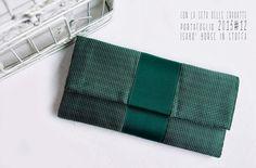 ISABO' BORSE IN STOFFA silk tie wallet for lady