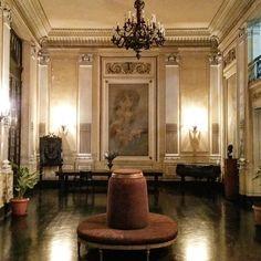 Lapa, Foyer da Sala de Concertos da Escola de Música da UFRJ, Rio