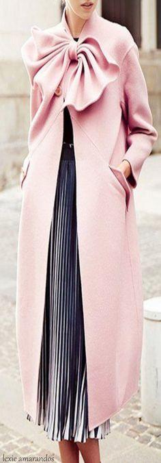Pastel Pink Coat • S