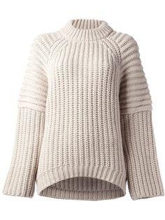 BALENCIAGA - chunky knit jumper 6