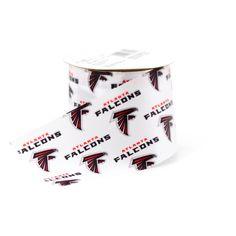 NFL 2 1/2'' Atlanta Falcons RibbonNFL 2 1/2'' Atlanta Falcons Ribbon,