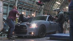 On set of The Furious, Fast And Furious, Paul Walker, On Set