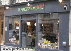 Il prezzemolo & delicatezze, épicerie fine and restaurant in Paris 3rd, DELICIOUS !!! I Love : le Brachetto d'Acqui, les pizza et les beignets au chocolat...