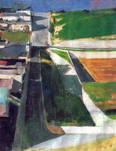 Richard Diebenkorn Cityscape I (Landscape No. 1) - 1963