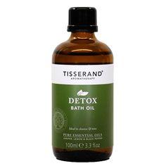 Tisserand Wellbeing Detox Bath Oil