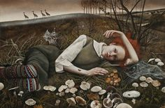 The Merry Wanderers by Andrea Kowch