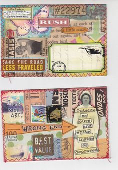 Mail Art2 by MadameO, via Flickr