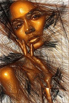 Gold Fingers Digital Art by Rafael Salazar