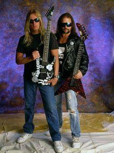 Slayer's Jeff Hannemman and Kerry King