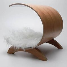 Can't resist a stylish dog bed! This one is from WoWo Dog Pod!