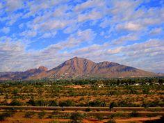 Camelback Mountain in Phoenix....spectacular!