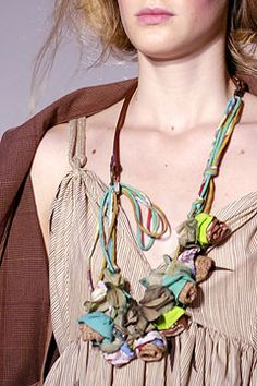 Ke Ying's Fashion And Stylish Blog: Marni jewelry-necklaces, earrings, bracelets