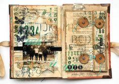 Pathfinder - travelling family album - envelope