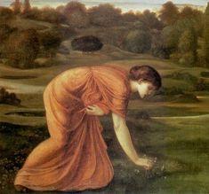 The March Marigold - Edward Burne-Jones