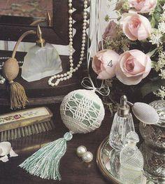 Ornament Crochet Patterns, Victorian Christmas