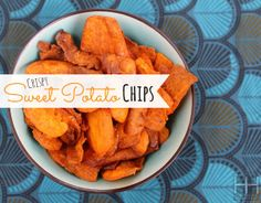 Crispy Paleo Sweet Potato Chips Recipe