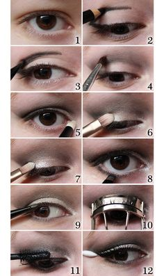 Evening Makeup Tutorial for Hooded Eyes