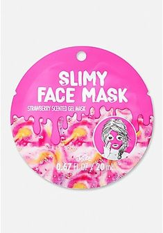 Pink Slime Face Mask
