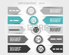 turquesa infogr Banco de Imagens