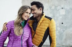 Chervò Happy Goose collection: Jacket MARIANNA 776 for her and Jacket MINO 237 for him