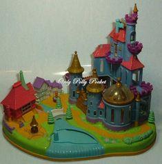 "1997 - Disney's Belle Beauty and the Beast ""Magical Castle"" - Bluebird Toys"