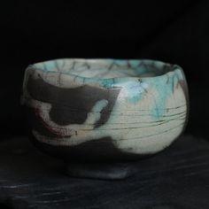 RAKU Teeschale von Studio ES auf DaWanda.com