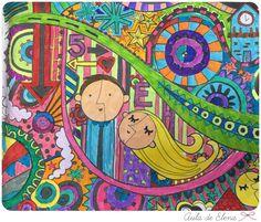 El gran álbum para dibujar, colorear y garabatear en el Aula de Elena 18