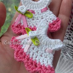 vestidito #sinfiltros ❤❤#encintadosbabyshower #encintadosbautizo #encintados #recuerdos #souvenirs #madehand #madewhitlove #crochet #crocheting #Curicó #Chile