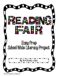 READING FAIR PROJECT PACKET - TeachersPayTeachers.com