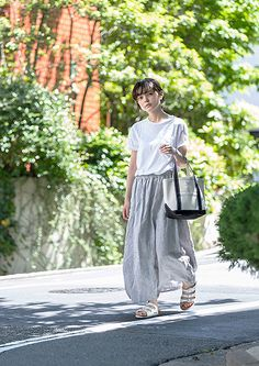 Uniform - FUDGE.JP – MUJI Special Snap NO.09 Tops : GAP Bottoms : Muji Shoes : BIRKENSTOCK Bag : ORCIVAL
