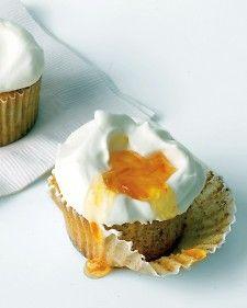Orange-Almond Cupcakes