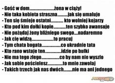 Gość w dom Weekend Humor, Smile Everyday, Funny Stories, Man Humor, Motto, Funny Images, Life Is Good, Texts, Encouragement