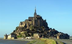 Based off Mont Saint-Michel in Normandy, France. | 9 Real Life Locations That Inspired Disney Films